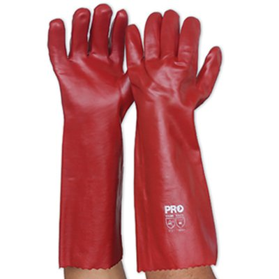 red-pvc-gloves
